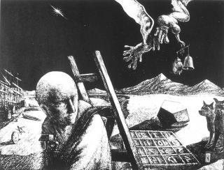 Melancholia von Jon Mincu, Maler, Grafiker, Illustrator aus Berlin