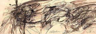 Aus dem Zyklus Kleist - Bilder einer Biographie - Illustration von Jon Mincu, Fine-Press-Atelier, Berlin - Künstler, Illustrator, Zeichner, Maler für Kunst, Wissenschaft, Belletristik und Kinderbücher
