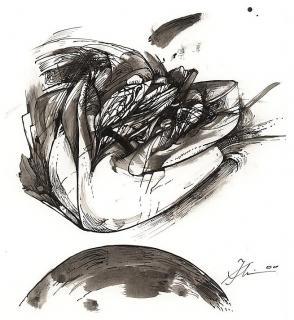 Peter Stephan, Poesien (I) - Illustration von Jon Mincu, Fine-Press-Atelier, Berlin - Künstler, Illustrator, Zeichner, Maler für Kunst, Wissenschaft, Belletristik und Kinderbücher