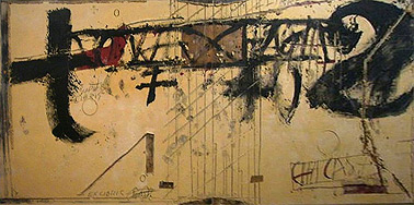 Gemälde von Antonio Tàpies
