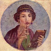 Portrait eines Mädchens - Herkulaneischer Meister, ca. 50 n. Chr.